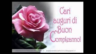 "getlinkyoutube.com-""Buon Compleanno"" ♥ Amica Mia ♥"