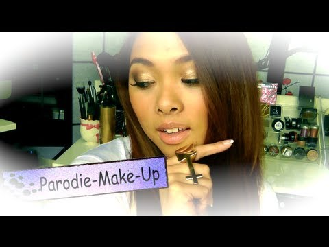 Psy Gentleman - Y-Titty Parodie - Make-Up Tutorial ^.^