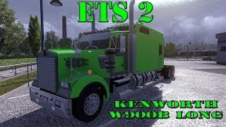 getlinkyoutube.com-Euro Truck Simulator 2 - Kenworth W900 Long edition