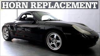 getlinkyoutube.com-Horn Replacement | Porsche Boxster & 996