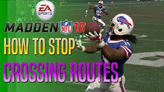 getlinkyoutube.com-Madden 16 Tips - How To Stop Crossing Routes!