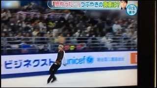 getlinkyoutube.com-yuzuru hanyu 羽生結弦 NHK杯 終わったの全貌は・・・