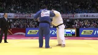 getlinkyoutube.com-TANGRIEV Abdullo UZB -  KHAMMO Iakiv UKR. +100 kg. Grand Slam Tokyo 2014