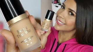 getlinkyoutube.com-Born This Way Foundation by Too Faced Review Reseña - Ydelays