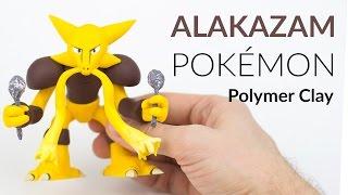 getlinkyoutube.com-Alakazam Pokemon – Polymer Clay Tutorial