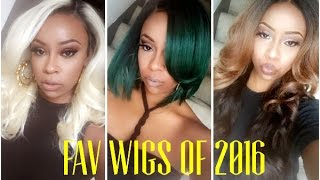 My Top 10 Wigs of 2016!
