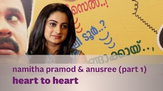 getlinkyoutube.com-Heart to Heart ft. Namitha Pramod & Anusree (Part 01) - Kappa TV