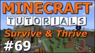 getlinkyoutube.com-Minecraft Tutorials - E69 Witches and Huts (Survive and Thrive Season 4)