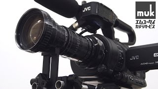 getlinkyoutube.com-JVC GY-LS300 4KCAM VSM Demo. Arriflex angenieux 10x12 mountadapter /muk #100