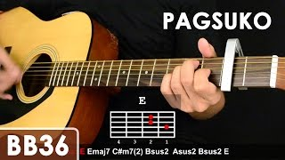 getlinkyoutube.com-Pagsuko - Jireh Lim Guitar Tutorial (Chords/Sequence/1st chorus fingerpicking lesson)