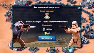 getlinkyoutube.com-Star Wars: Commander - Pro Attacks 100% Damage - Tournament 2 (Galactic War): Part 2