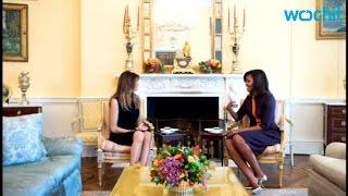 getlinkyoutube.com-Michelle Obama Hosts Melania Trump For Tea