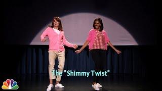 getlinkyoutube.com-Evolution of Mom Dancing Part 2 (w/Jimmy Fallon & Michelle Obama)
