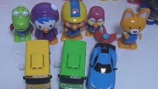 getlinkyoutube.com-타요 태엽 장난감 Tayo The Little Bus Toys 또봇Y 뽀로로
