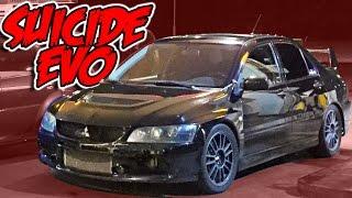getlinkyoutube.com-Street Racing Taxi - The SUICIDE EVO!