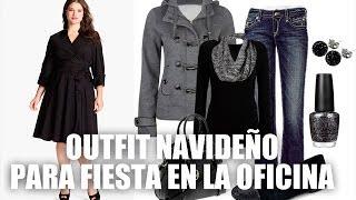 getlinkyoutube.com-Como vestir en Invierno | Outfits para fiestas de invierno | ActitudFEM