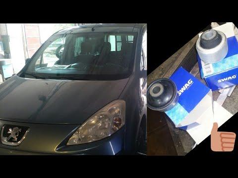 Peugeot Partner замена сайлентблоки передних рычагов