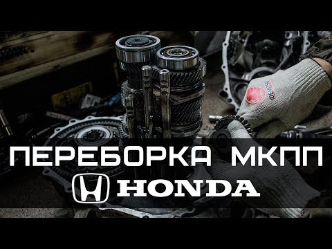 Как перебрать КПП (МКПП, коробку передач) на Honda Civic, Accord, CRV
