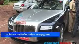 Father of 9 year old ferrari driving boy arrested in thrissur for drunken drive in Rolls roys Ghost
