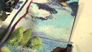 getlinkyoutube.com-DIPINGERE COME GLI IMPRESSIONISTI - an Italian painter who paints as Impressionists