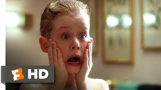 getlinkyoutube.com-Home Alone (1/5) Movie CLIP - Kevin Washes Up (1990) HD