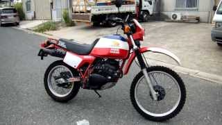 HONDA XL250R PARIS DAKAR