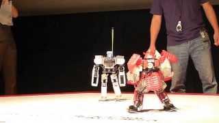 getlinkyoutube.com-2013 RoboSmart go to Japan to participate in 23th ROBO-ONE record!HD