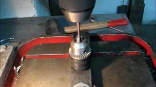 getlinkyoutube.com-Making Of a Drill Press Jig