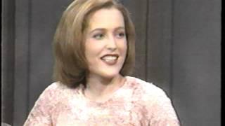 getlinkyoutube.com-Gillian Anderson's first Letterman appearance (full clip)