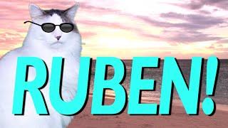 getlinkyoutube.com-HAPPY BIRTHDAY RUBEN! - EPIC CAT Happy Birthday Song