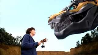 getlinkyoutube.com-One Step Optimus Prime i  Grimlock - Transformers 4: Wiek Zagłady -  PL