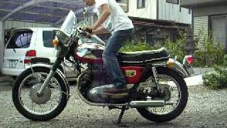 getlinkyoutube.com-1970年式 カワサキW1S