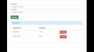 getlinkyoutube.com-Carrito de Compras Simple (PHP, Bootstrap, JQuery)