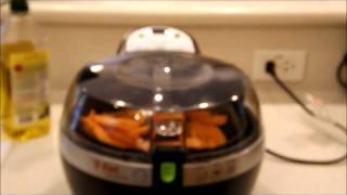 Sweet potato french fries Actifry T-Fal