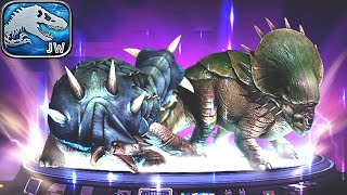 Jurassic World The Game: New Hybrids Pachyceratops Giganocephalus | Mosasaurus Event