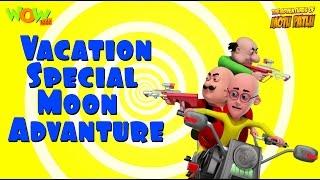 Motu Patlu Vacation Special - Moon Adventure-As seen on Nickelodeon
