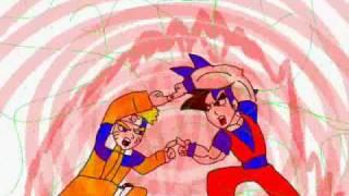 getlinkyoutube.com-Fusion Project: Goku & Naruto