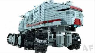 getlinkyoutube.com-Custom RC Clone TURBO TANK (2010) Lego Star Wars Stop Motion Animation 7261 8098 75151