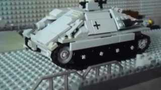 getlinkyoutube.com-Lego WW2 Panzer/Tank Hetzer Stopmotion