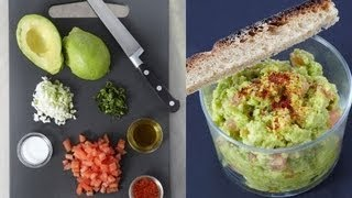 getlinkyoutube.com-Technique de cuisine : Faire un guacamole