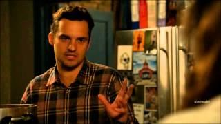 getlinkyoutube.com-New Girl Funniest Scene- Popcorn Machine -Season 4 Episode 17