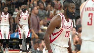 getlinkyoutube.com-NBA 2K17 Play Now - Rockets! James Harden Poster! PS4 Pro 4K