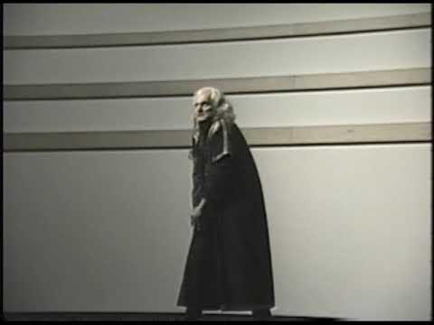 Copernicus at a Unitarian Church 11/10/1991