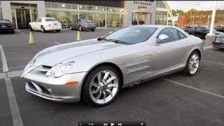 getlinkyoutube.com-2006 Mercedes-Benz SLR McLaren Start Up, Exhaust, and In Depth Review