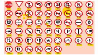 getlinkyoutube.com-15 SINALIZAÇÃO DE TRÂNSITO - Significado das placas de Regulamentação e Advertência