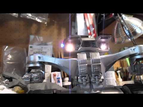 1/32 T2 Terminator Hunter Killer Tank build part 6