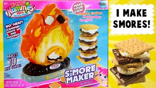 getlinkyoutube.com-Yummy Nummies Smores Food Maker - How to Easily Make a S'more!