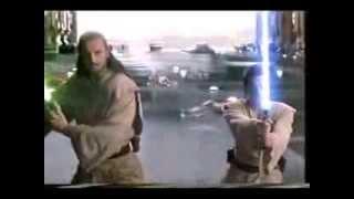 getlinkyoutube.com-Star wars Episodio 1 Lucha final