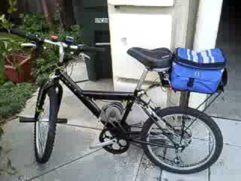 Homemade Electric Bicycle Bike 24V Volt EV EBike