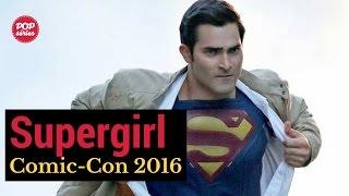 SDCC 2016: Tyler Hoechlin de Supergirl